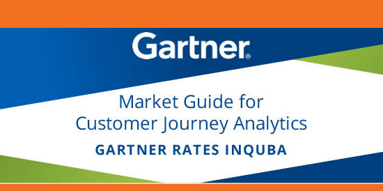 Gartner rates inQuba as a global leader in Customer Journey Analytics