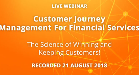 Customer Journey Management for Financial Services