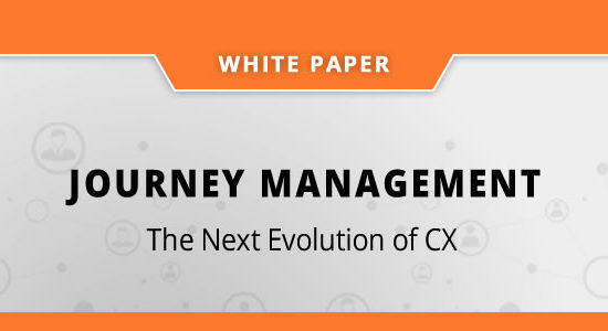 Journey Management – The Next Evolution of CX