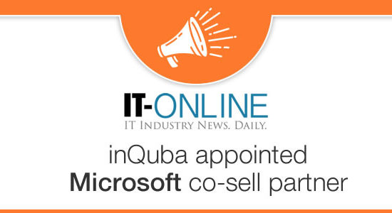 inQuba appointed Microsoft co-sell partner