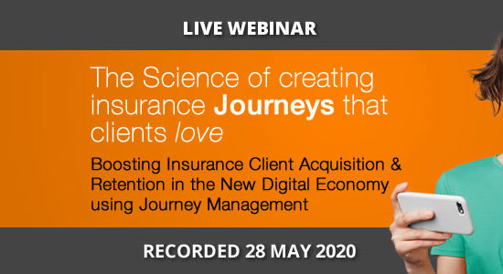 Boosting Insurance Client Acquisition & Retention in the new digital economy, SA Webinar